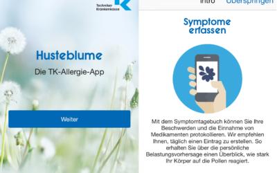Pollenflug-App Husteblume