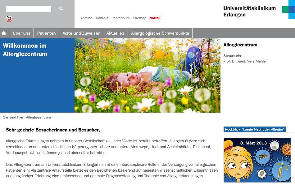 Lange Nacht der Allergie in Erlangen
