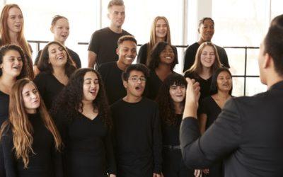 Singen stärkt die Lunge