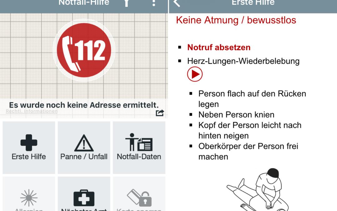 Notfall-Hilfe-App