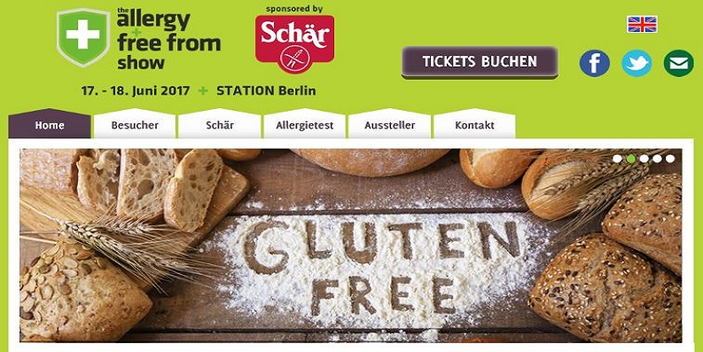 Allergy & Free From Show, 17.-18. Juni 2017