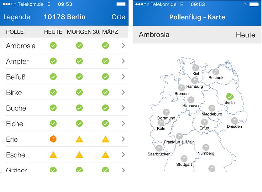 Pollenflug-App