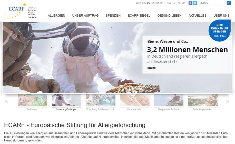 Europäische Stiftung für Allergieforschung (ECARF)