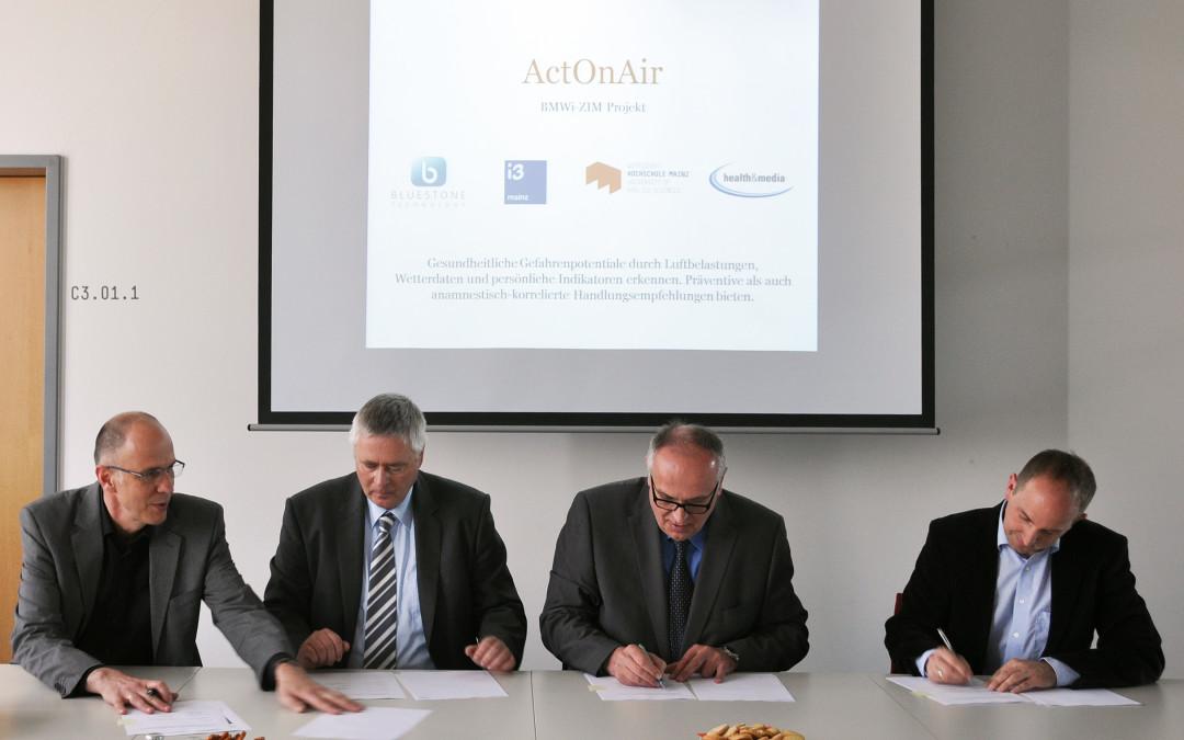 ActOnAir-Forschungsprojekt gestartet