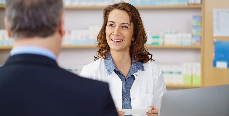 Hilfe in der Apotheke für chronisch Kranke