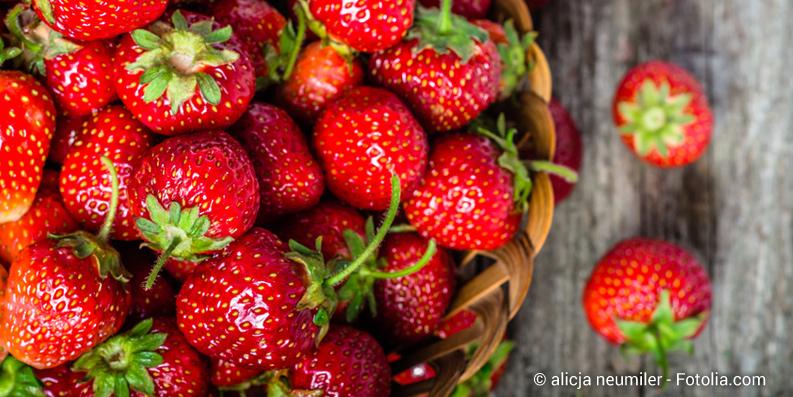 Erdbeeren und Tomaten als Allergieauslöser