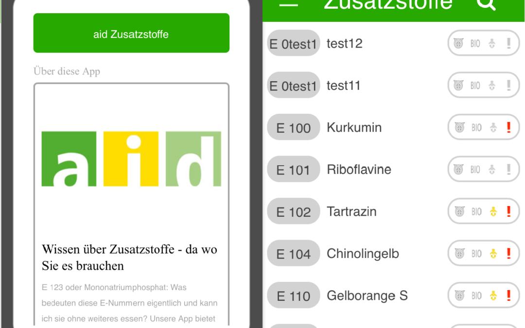 aid – E-Nummern-Finder
