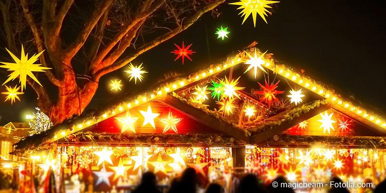 Weihnachtsmärkte mit glutenfreien Speisen